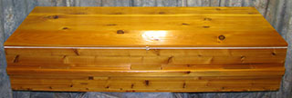 Basic Cedar Caskets