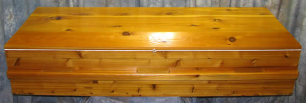Basic Cedar Caskets Base Price $899.00