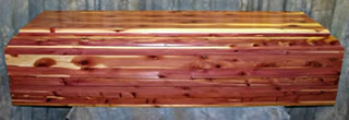 Tennessee Red Cedar Caskets