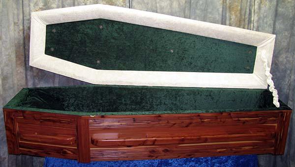 Cedar Coffin