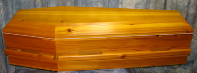Eco Cedar Coffin
