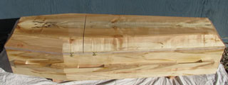 Spalted Maple Casket