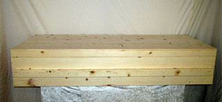 Simple Pine Caskets